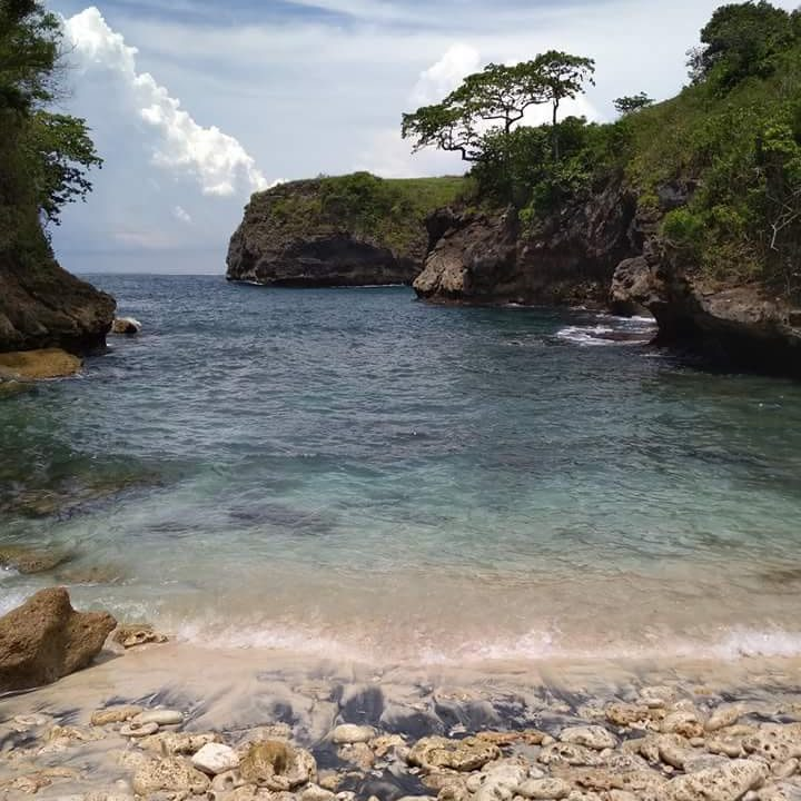 pantai bulian nusa penida