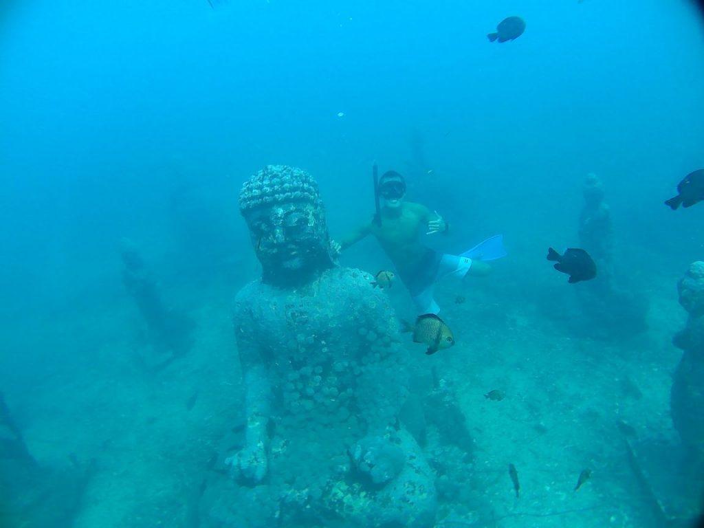 spot budha temple nusa penida