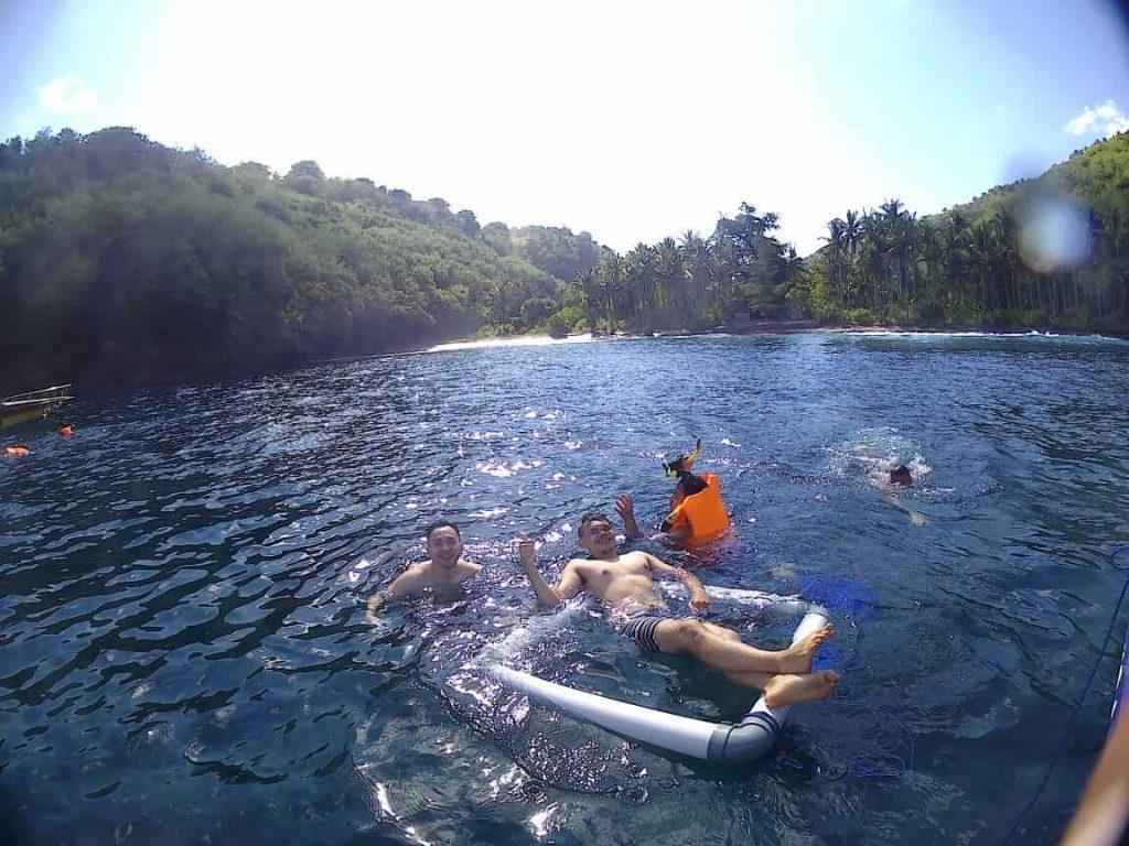 Gamat Bay Snorkeling Nusa Penida