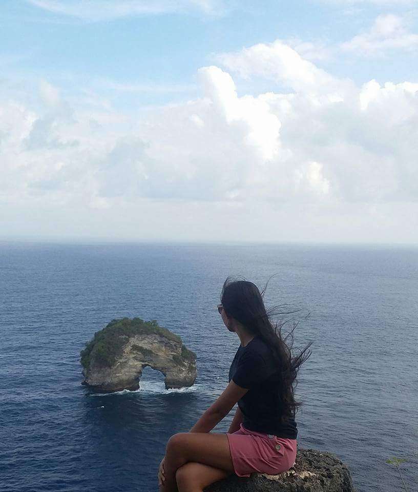 bannah clift nusa penida