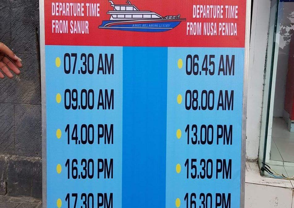 Jadwal Keberangkatan Boat dari Sanur Ke Nusa Penida