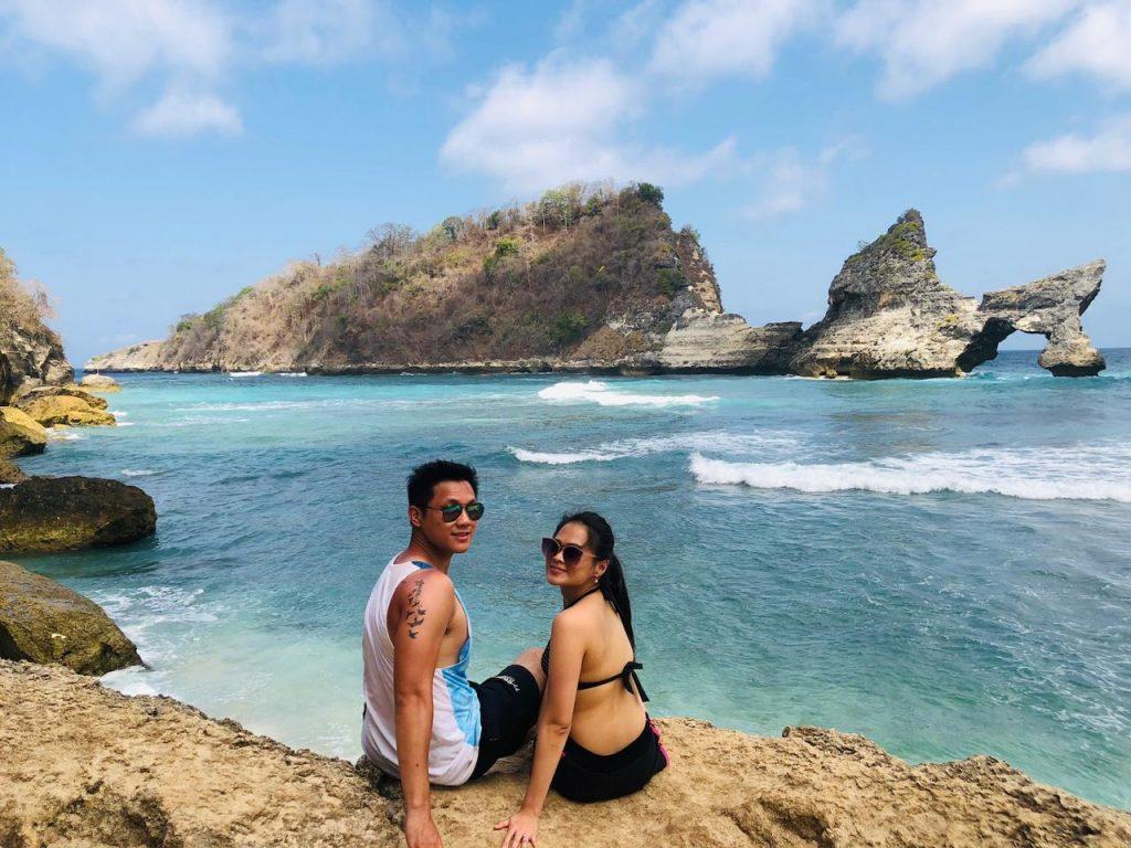 atuh beach nusa penida Love Nusa Penida
